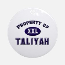 Property of taliyah Ornament (Round)