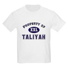 Property of taliyah Kids T-Shirt