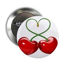 """Cherry Love 2.25"""" Button"""