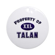 Property of talan Ornament (Round)