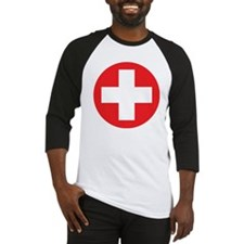 red cross Baseball Jersey