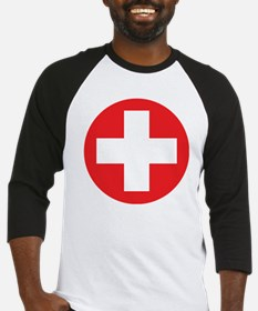 red cross Baseball Jersey