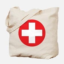 red cross Tote Bag