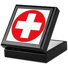 red cross Keepsake Box