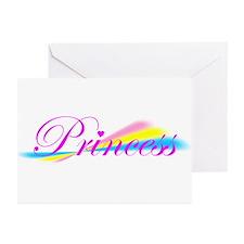 Rainbow Princess Greeting Cards (Pk of 10)