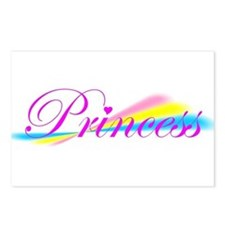 Rainbow Princess Postcards (Package of 8)