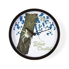 5-ghost_shirt_design Wall Clock