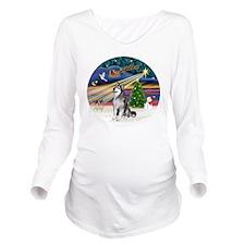 Xmas Magic (R) - Ala Long Sleeve Maternity T-Shirt