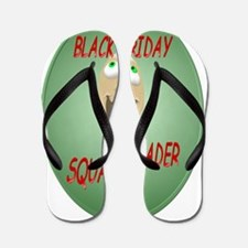 Black Friday Squad Leader Trans Flip Flops