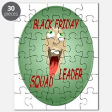 Black Friday Squad Leader Trans Puzzle