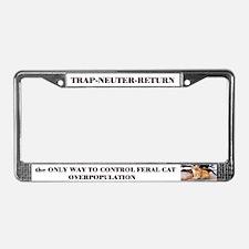 Trap-Neuter-Return License Plate Frame