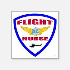 "FLIGHTNURSE3 Square Sticker 3"" x 3"""