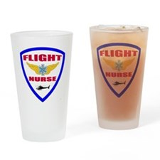 FLIGHTNURSE3 Drinking Glass