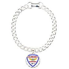 FLIGHTNURSE3 Charm Bracelet, One Charm