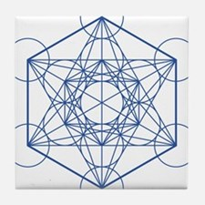 hb-metatron Tile Coaster