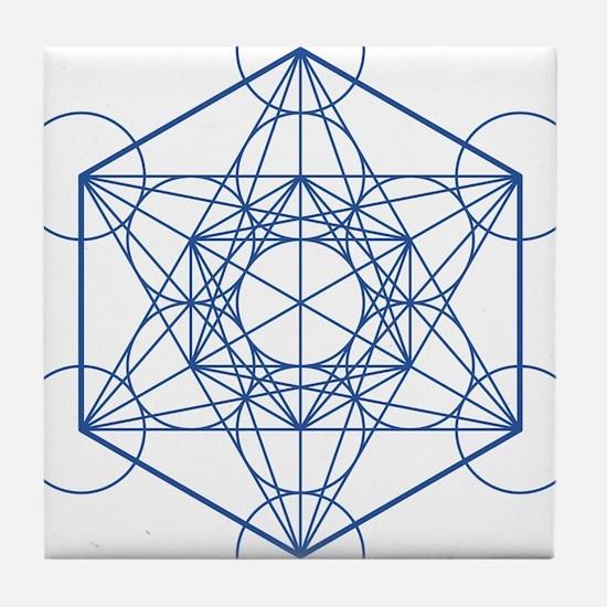 hb-metatron Tile Coaster