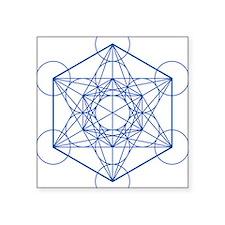 "hb-metatron Square Sticker 3"" x 3"""