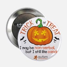"""halloween1-non-verbal 2.25"""" Button"""