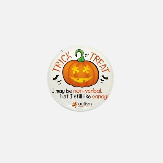 halloween1-non-verbal Mini Button