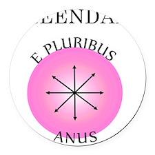 epluribusanus Round Car Magnet