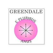 """epluribusanus Square Sticker 3"""" x 3"""""""
