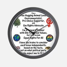 independent_thinker_2d_trans Wall Clock