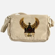 egyptianonwhite Messenger Bag