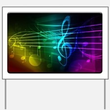color of music_template_submit Yard Sign
