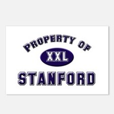 Property of stanford Postcards (Package of 8)