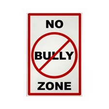 nobullyzone Rectangle Magnet
