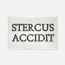 STERCUS ACCIDIT Rectangle Magnet