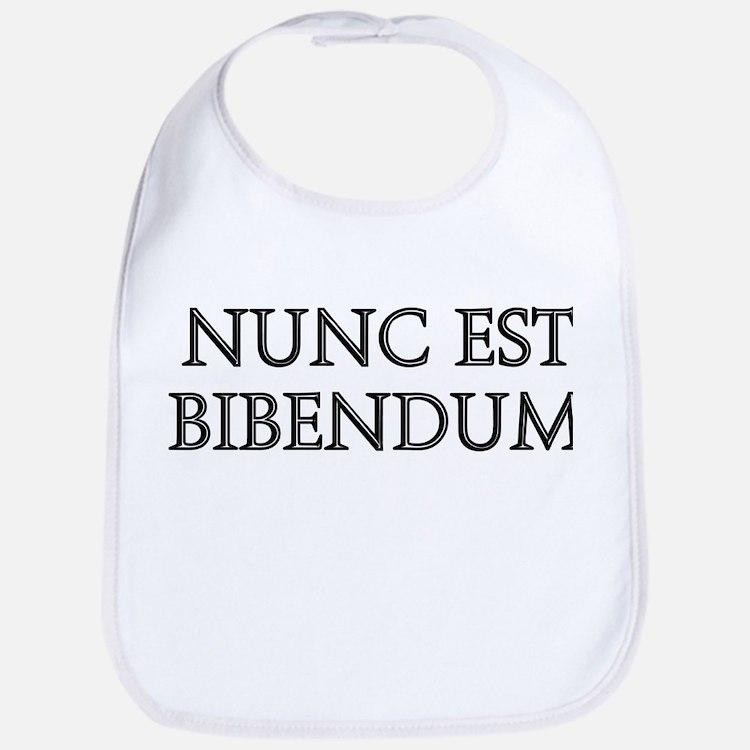 NUNC EST BIBENDUM Bib