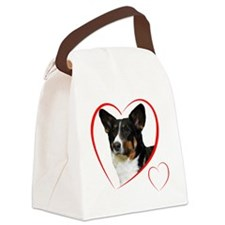 CardiganLovePlain Canvas Lunch Bag