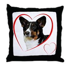 CardiganLovePlain Throw Pillow