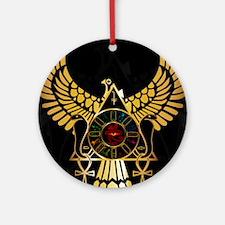 egyptiansquare Round Ornament