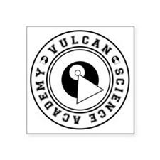 "vulcanscienceacademy02 Square Sticker 3"" x 3"""