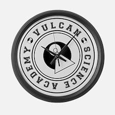 vulcanscienceacademy02 Large Wall Clock