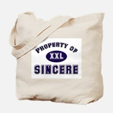 Property of sincere Tote Bag