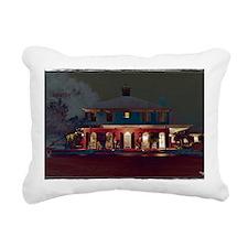 MSU Presidents Home Rectangular Canvas Pillow