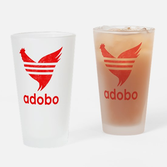 adob-red Drinking Glass
