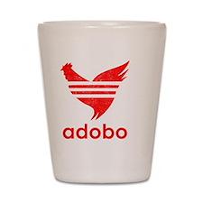adob-red Shot Glass