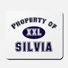 Property of silvia Mousepad