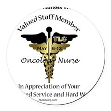 ONC-nnw-cd Round Car Magnet