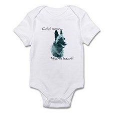 Malinois Warm Heart Infant Bodysuit