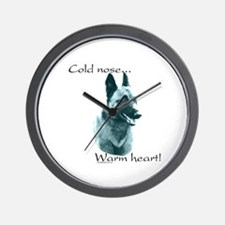 Malinois Warm Heart Wall Clock