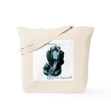 Bloodhound Warm Heart Tote Bag