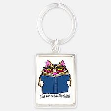 cat Portrait Keychain