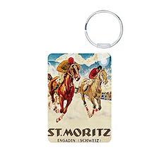 St Moritz Engadin Schweiz  Keychains