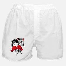 B9_FIGHT_LIKE_GIRL_01 Boxer Shorts