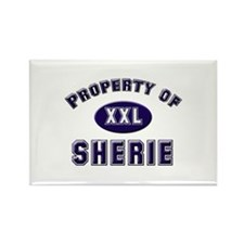 Property of sherie Rectangle Magnet